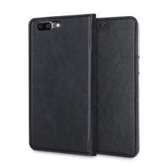 A premium slimline black genuine leather case. The Olixar genuine leather executive wallet case offers perfect protection for your OnePlus 5, as well as featuring a smart magnetic media stand and slots for your cards, cash and documents.