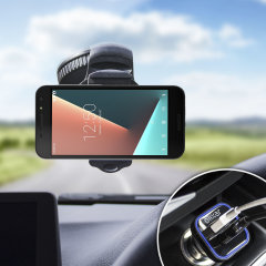 Hold your phone safely in your car with this fully adjustable DriveTime car holder for your Vodafone Smart N8.