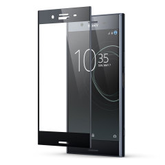 Keep your Sony Xperia XZ Premium's screen in pristine condition with this full coverage Olixar Tempered Glass Screen Protector, designed to cover and protect even the curved outer edges of the phone's unique display.