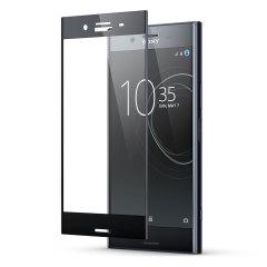 Houd het scherm van je Sony Xperia XZ Premium in onberispelijke staat met deze volledig afgeschermde Olixar Gehard glazen screenprotector, ontworpen om zelfs de gebogen randen van het unieke scherm van de telefoon te bedekken en te beschermen.