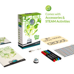 Introducing the Ozobot 2.0 Bit in crystal white - the perfect way to introduce children to computer science, robotics and coding in a fun and imaginative way. This starter kit includes an OzoCode reference sheet and over 20 activities to complete.