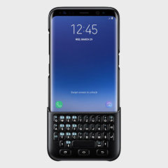 Official Samsung Galaxy S8 Plus QWERTZ Keyboard Cover - Black