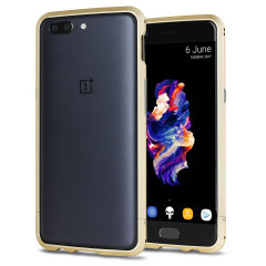 Protect your OnePlus 5 with this unique and stunning gold aluminium bumper case.The precision bumper protects the outer edges while providing some front and back protection and looking sleek and fabulous while doing so.