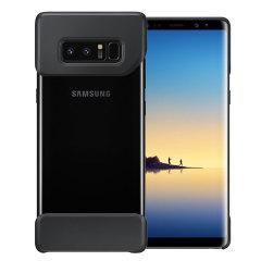 La coque Officielle Samsung Galaxy Note 8 Pop Cover en coloris noir se compose de deux formes à la fois géométriques et ergonomiques, faciles à attacher, et qui garantissent à votre Samsung Galaxy Note 8 d'avoir une apparence unique tout en lui offrant une protection supérieure contre la chute.