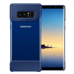 The official Pop Cover case for Samsung Galaxy Note 8 in deep blue consists of two ergonomic, easy-to-attach geometric shapes which bookend your Galaxy Note 8, adding a unique style and offering superior drop protection.