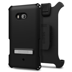 Seidio Dilex Combo HTC U11 Holster Case w/ Kickstand - Black