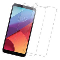 Protector de Pantalla LG G6 Olixar Cristal Templado - Pack Doble