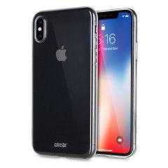 Olixar Ultra-Thin iPhone X Gel Case - 100% Clear