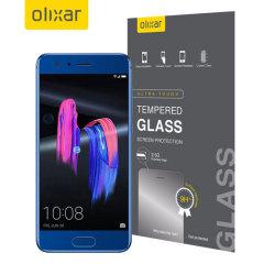 Det ultratunna, tempurerade glasskärmskyddet till Huawei Honor 9 erbjuder tålighet, hög synlighet och känslighet till din telefon. Allt i ett och samma paket.