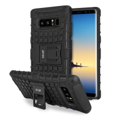 Olixar ArmourDillo Samsung Galaxy Note 8 in Schwarz