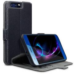 Al het gemak van een wallet case maar in een gestroomlijnde verpakking. De Low Profile is de perfecte partner voor de Huawei Honor 9 gebruiker die altijd onderweg is. Dit hoesje is tevens te gebruiken als een handige stand voor het bekijken van media.