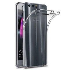 Skräddarsydd till din Huawei Honor 9. Det här FlexiShieldskalet kommer från Olixar och erbjuder en smal passform och ett hållbart skydd mot skador.