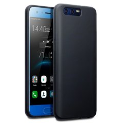 Custom moulded for the Huawei Honor 9, this solid black FlexiShield case by Olixar provides slim fitting and durable protection against damage.
