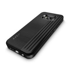 Zizo Retro Samsung Galaxy S8 Brieftaschen Stand Hülle - Schwarz