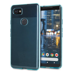 Custom moulded for the Google Pixel 2 XL, this blue Olixar FlexiShield case provides slim fitting and durable protection against damage.