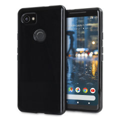 Custom moulded for the Google Pixel 2 XL, this solid black Olixar FlexiShield case provides slim fitting and durable protection against damage.