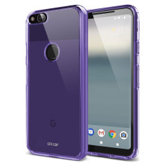 Custom moulded for the Google Pixel 2, this purple Olixar FlexiShield case provides slim fitting and durable protection against damage.