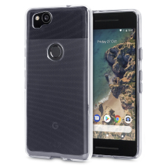 Olixar Ultra-Thin Google Pixel 2 Gel Case - 100% Clear