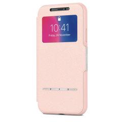 Moshi SenseCover iPhone X Smart Case in Luna Rosa