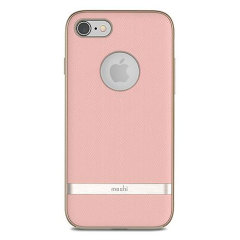 Moshi Vesta iPhone 8 Textile Pattern Case - Blossom Pink