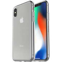 Maintain the pristine quality and elegant design of your iPhone X while protecting your device from scratches, bumps and scrapes with this ultra-lightweight gel case from OtterBox.