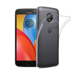 Olixar Ultra-Thin Motorola Moto E4 Plus Gel Case - 100% Clear