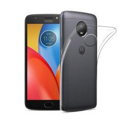 Olixar Ultra-Thin Motorola Moto E4 Plus Gel Case - Transparant