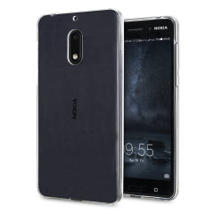 Custom moulded for the Nokia 6, this clear gel case by Olixar provides slim fitting and durable protection against damage.