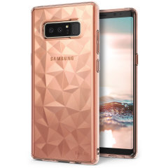 Rearth Ringke Air Prism Samsung Galaxy Note 8 Case - Rose Gold