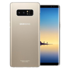 Official Samsung Galaxy Note 8 Clear Cover Case - Clear