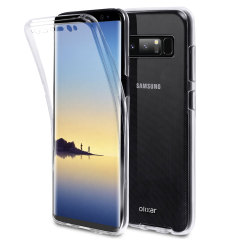 Olixar FlexiCover 360 Protection Samsung Galaxy Note 8 Case - Clear