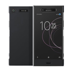 Official Sony Xperia XZ1 Style Cover Touch Case - Black