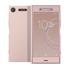 Original Sony Xperia XZ1 Style Tasche Touch Case in Rosa