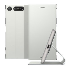 Official Sony Xperia XZ1 Style Cover Stand - Silver