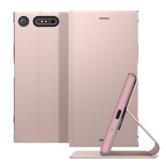 Official Sony Xperia XZ1 Style Cover Stand - Pink