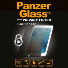 Introducing the PanzerGlass glass screen protector with privacy filter. Designed to be shock resistant and scratch resistant, PanzerGlass offers ultimate protection for your iPad Pro 10.5 inch's display.