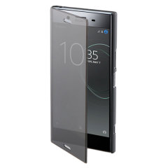 "The Roxfit Touch Book case in black houses your Xperia XZ1, providing protection, while also allowing you to view and interact with the screen while the case is closed. Also features a built-in media viewing stand. Part of the ""Made for Xperia"" program."