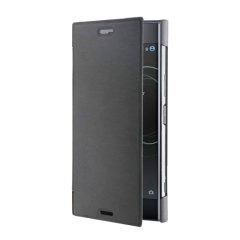 Det officiellt licensierade bokflip-fodralet från Roxfit förvarar din Sony Xperia XZ1 i ett formanpassat hårt fodral och håller den skyddad med ett mjukt foder och ett elegant utseende.