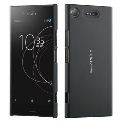 "This officially licensed case from Roxfit houses the Sony Xperia XZ1 within a form fitting frame, crafted from an ultra-high quality black shell, with a scratch resistant coating. Part of the ""Made for Xperia"" program."