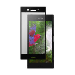 This ultra-thin tempered glass screen protector in black from Roxfit for the Sony Xperia XZ1 offers toughness, high visibility and sensitivity all in one package.
