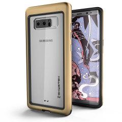 Ghostek Atomic Slim Samsung Galaxy Note 8 Tough Case - Gold
