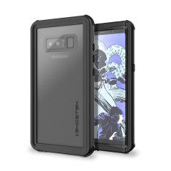Ghostek Nautical Series Samsung Galaxy Note 8 Waterproof Tough Hülle - Schwarz