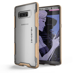 Ghostek Cloak 3 Samsung Galaxy Note 8 Tough Case - Clear / Gold