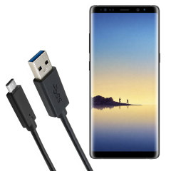 Make sure your Samsung Galaxy Note 8 is always fully charged and synced with this compatible USB 3.1 Type-C Male To USB 3.0 Male Cable. You can use this cable with a USB wall charger or through your desktop or laptop.