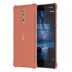 Official Nokia 8 Soft Touch Case - Copper