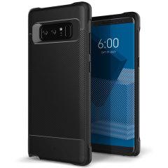 Protégez votre Samsung Galaxy Note 8 à l'aide de cette superbe coque à double couche en coloris noir. Conçue à partir d'un matériau résistant à double couche, cette coque n'en reste pas moins fine une fois en main. Elle est composée d'une couche principale en TPU et d'un cadre externe élégant à effet métallique. Une fois équipée, votre Samsung Galaxy Note 8 dispose d'une superbe finition bicolore tout en étant parfaitement protégé.