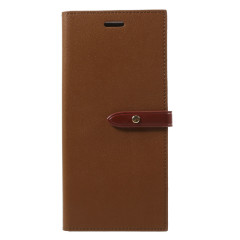 Mercury Romance Diary Samsung Galaxy Note 8 Wallet Case - Brown