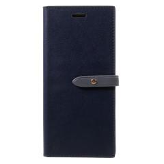 Mercury Romance Diary Galaxy Note 8 Brieftaschen Hülle - Marine