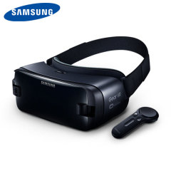 Samsung and Oculus present the leading Gear VR headset. Comes complete with a motion controller for added immersion. Compatible with a wide range of the latest Samsung Galaxy devices including S9 / S9 Plus, Note 8, S8, S8 Plus, S7 and many more