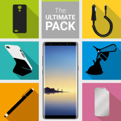 The Ultimate Pack for the Samsung Galaxy Note 8 consists of fantastic must have accessories designed specifically for the Galaxy Note 8.